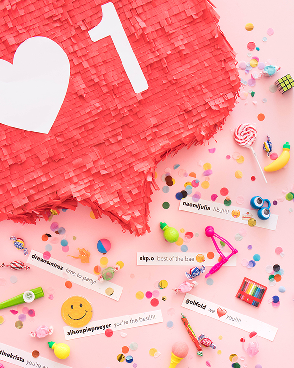 """Like"" Button Pinata | Oh Happy Day!"
