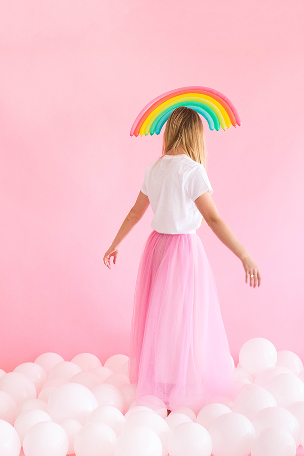 Rainbow Balloon Hats | Oh Happy Day!