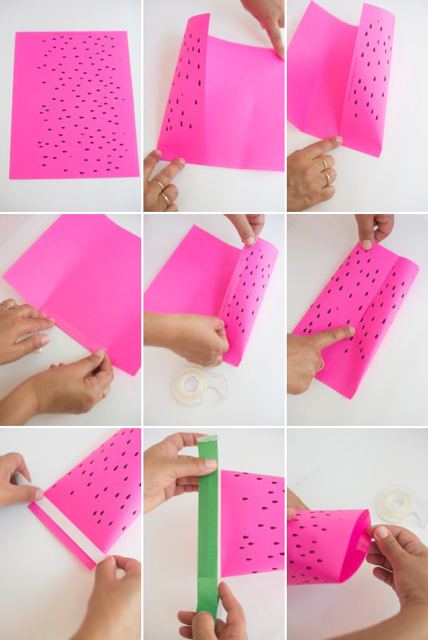 Watermelon Favor Pouches | Oh Happy Day!
