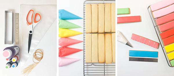 Rainbow Ruler Cookies | Oh Happy Day!