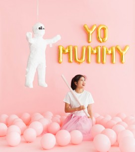 Mummy Pinata Makeover | Oh Happy Day!