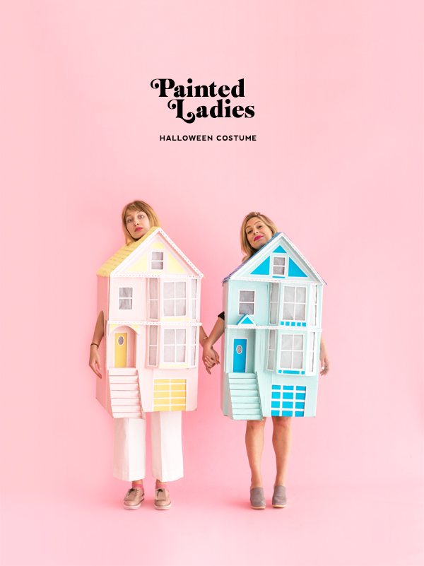 Painted Ladies Halloween Costume | Oh Happy Day!