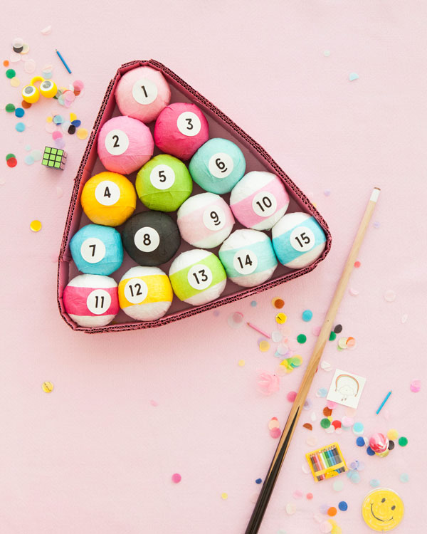 Billiards Surprise Balls | Oh Happy Day!