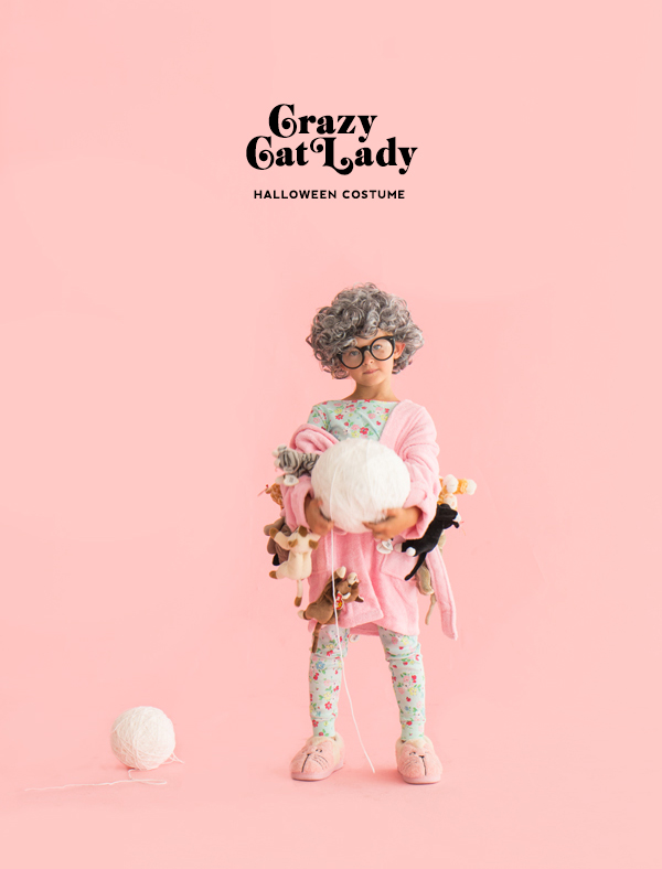 Crazy Cat Lady Costume | Oh Happy Day!