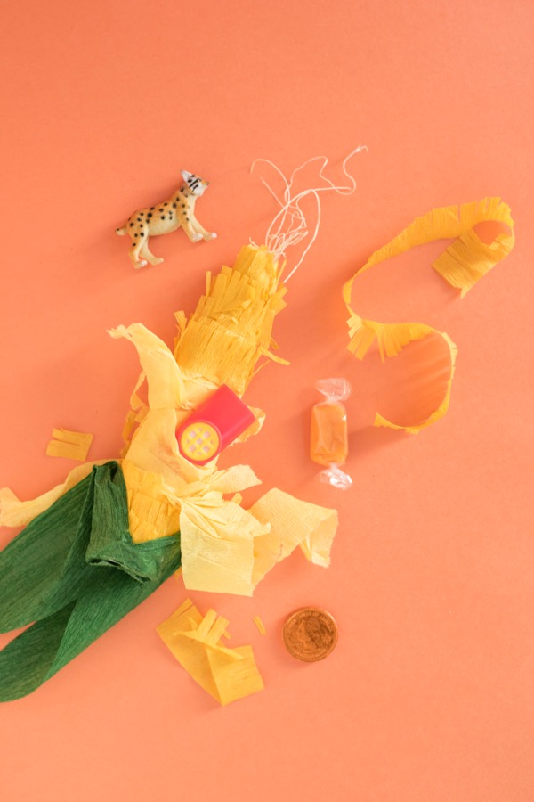 Harvest Corn Surprise Ball DIY | Oh Happy Day!