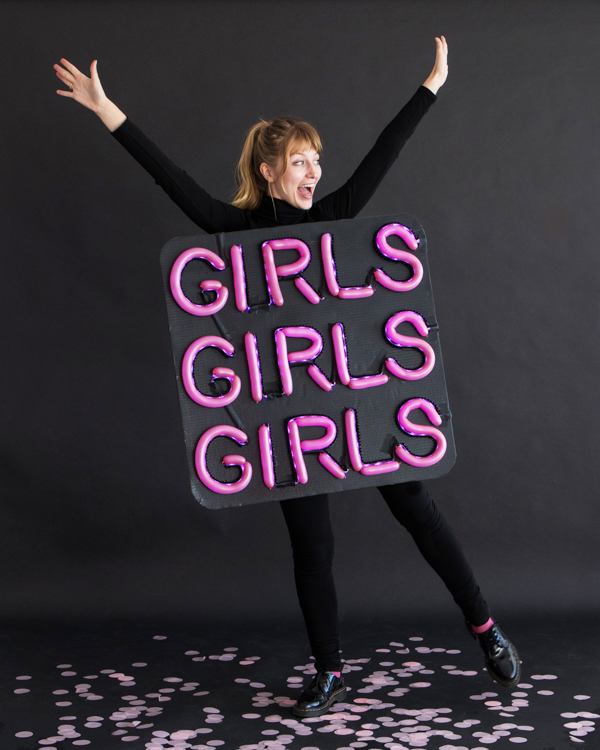 Neon Sign Costume | Oh Happy Day!