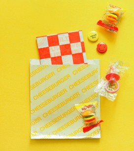 Custom Made: Burger Baby Shower Favors | Oh Happy Day!