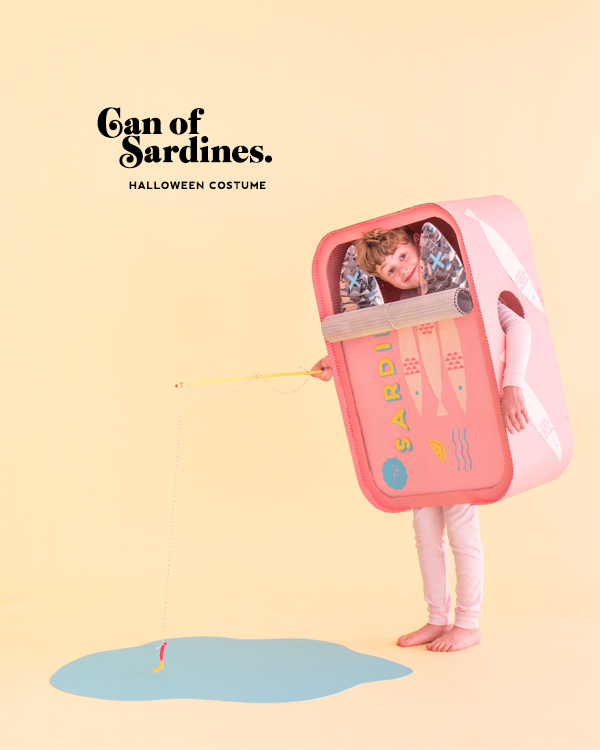 Sardine Can Costume | Oh Happy Day!
