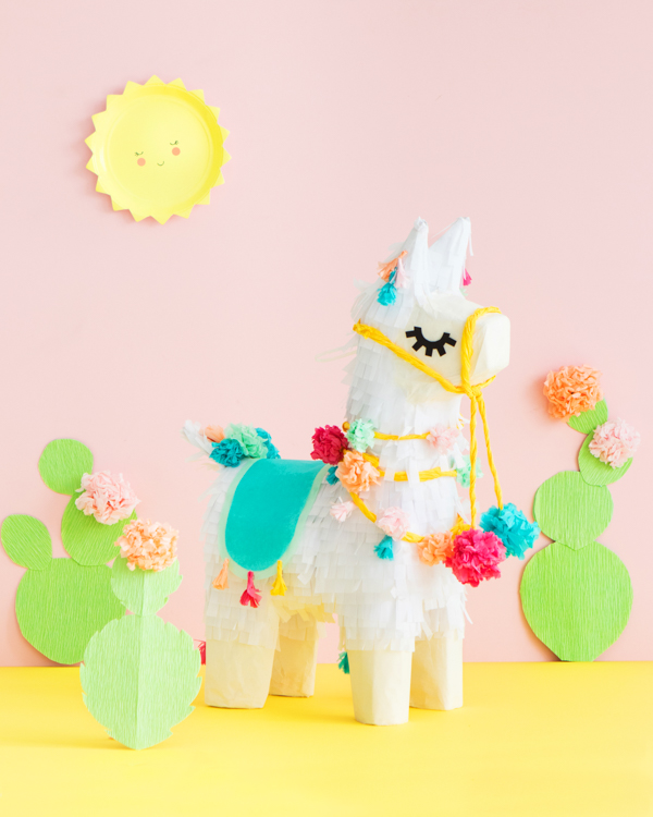 Llama Pinata Makeoever | Oh Happy Day!