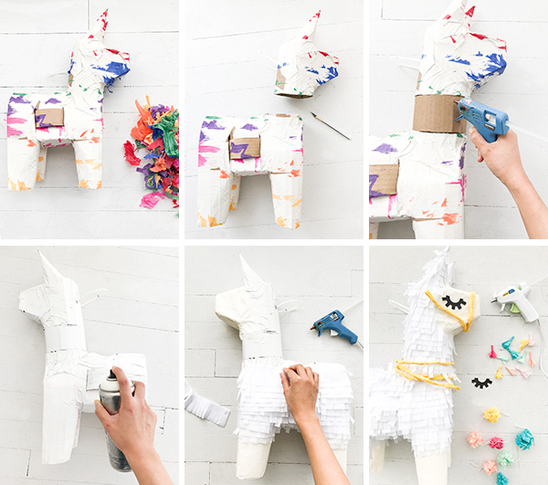 Llama Pinata Makeover | Oh Happy Day!