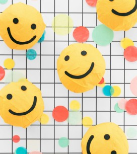 Smiley Face Surprise Balls | Oh Happy Day!