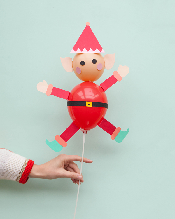 Elf Balloon Sticks
