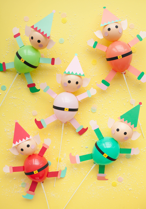 Elf Balloon Sticks | Oh Happy Day!