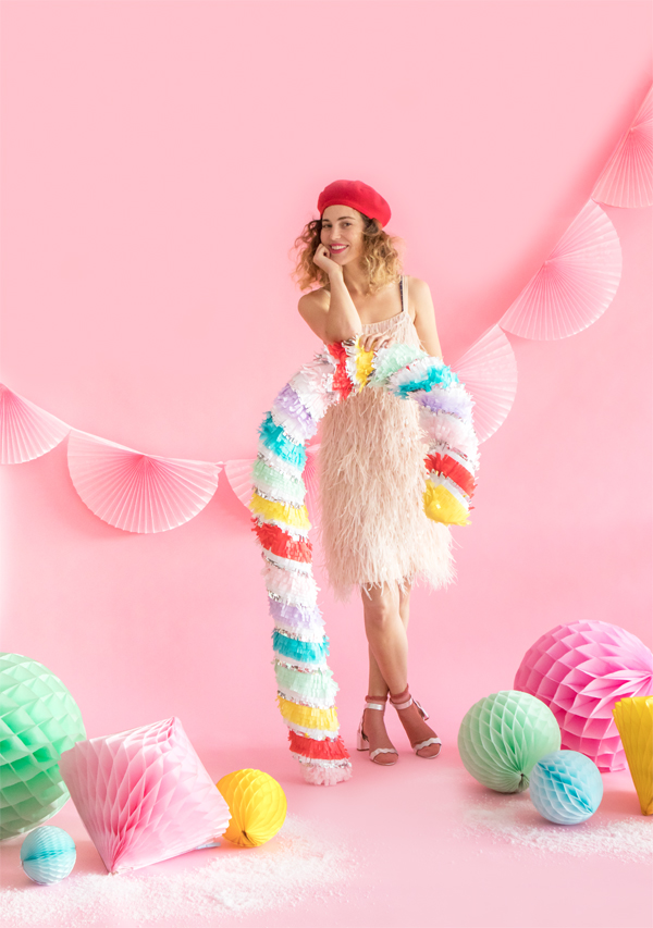 Giant Rainbow Candy Cane | Oh happy Day!