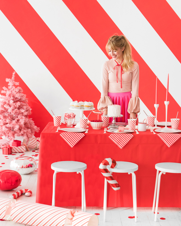 Red and White Candy Stripe Party