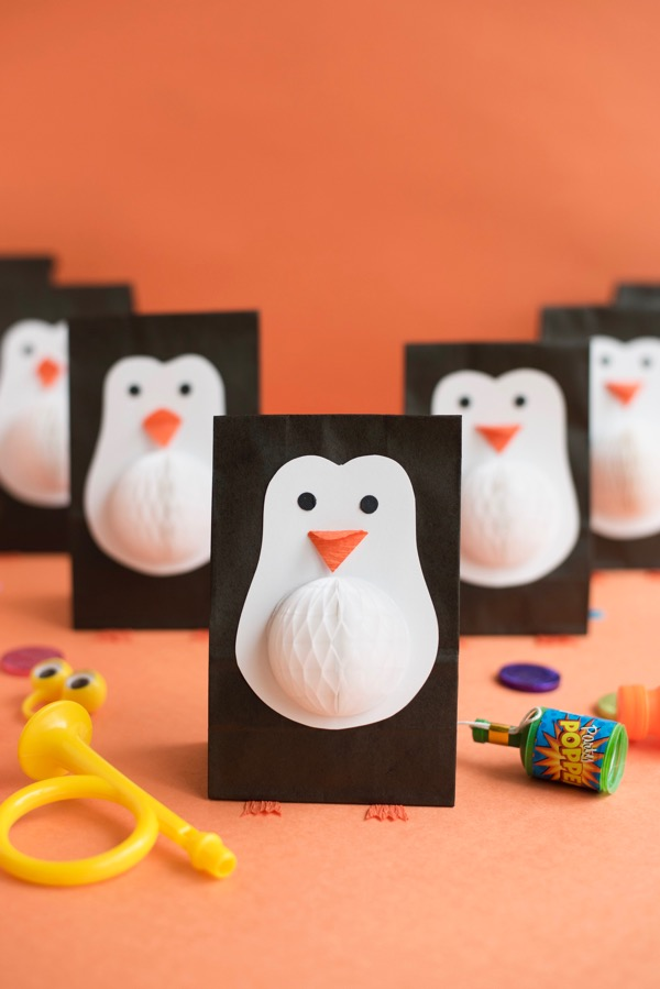 Penguin Favor Bags | Oh Happy Day!
