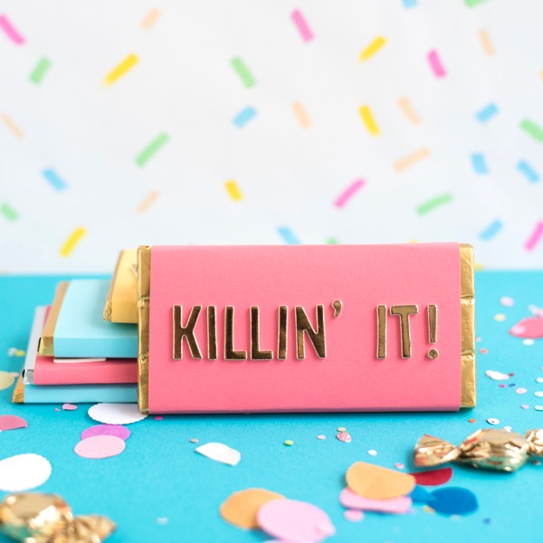 Compliment Candy Bars DIY | Oh Happy Day!