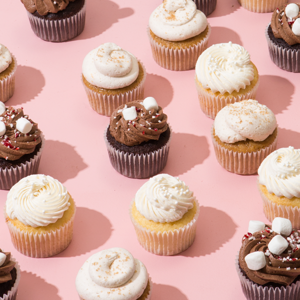 Piece of Cake: Holiday Drink Cupcakes   Oh Happy Day!