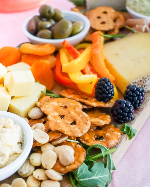 Cheeseboard for the Big Game | Oh Happy Day!