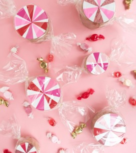 Candy Swirl Favor Boxes | Oh Happy Day!