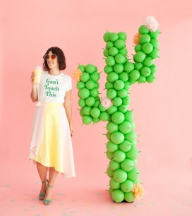 Giant Balloon Cactus | Oh Happy Day