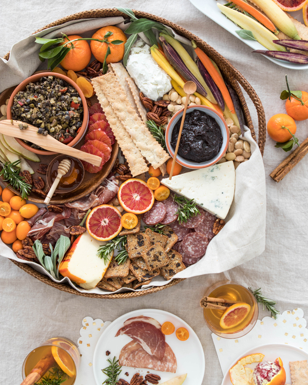 Winter Cheeseboard | Oh Happy Day!