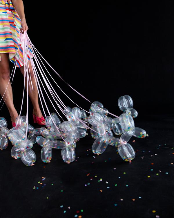 Confetti Balloon Dogs   Oh Happy Day!