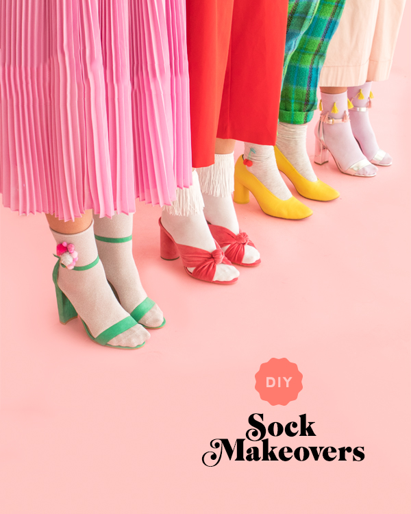 DIY Sock Makeovers | Oh Happy Day!