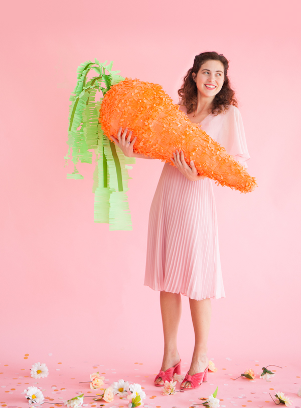 Giant Carrot Pinata | Oh Happy Day!