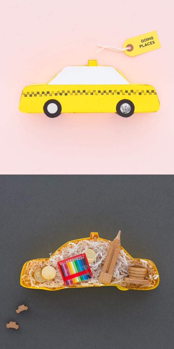 Taxi Giftbox Printable