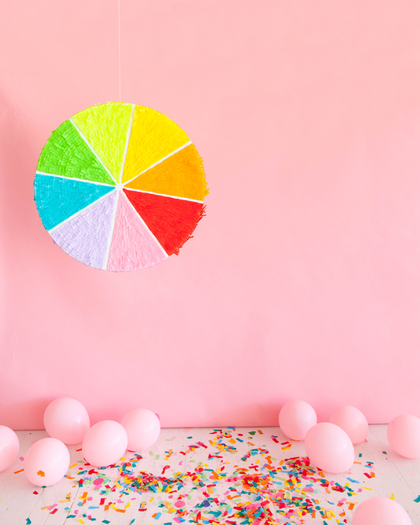Color Wheel Pinata | Oh Happy Day!