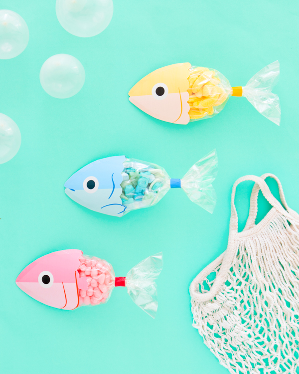 Fish Favor Bag Printable | Oh Happy Day!