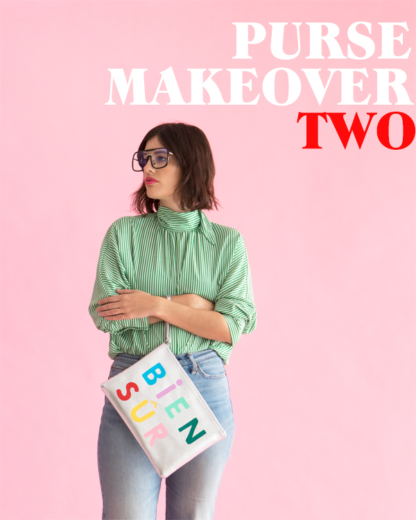 Purse Makeover Series: Two | Oh Happy Day!