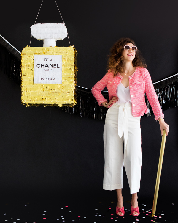 Chanel No. 5 Pinata | Oh Happy Day!