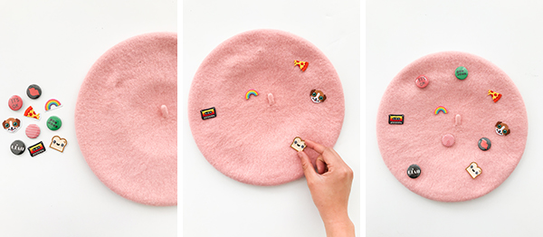 DIY Beret Makeover (Part Un!) | Oh Happy Day!