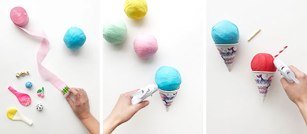 Snowcone Surprise Balls  | Oh Happy Day!