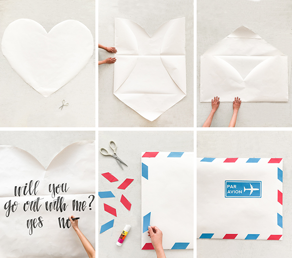 Giant Heart-Shaped Love Letter | Oh Happy Day!