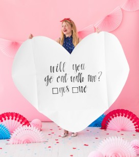 Giant Heart Love Letter | Oh Happy Day!
