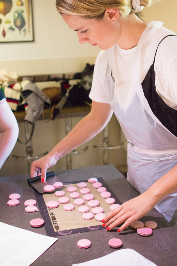 Making Macarons in Paris   Oh Happy Day!