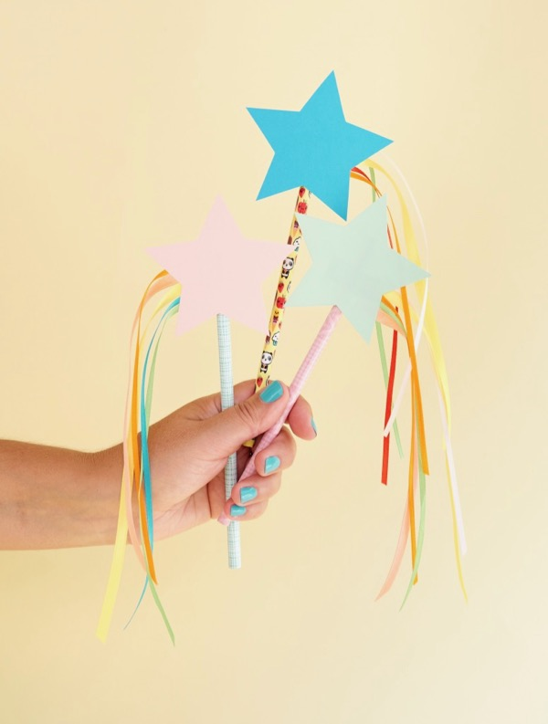 Shooting Star Pencil Toppers | Oh Happy Day!