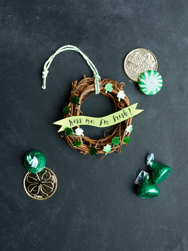 Mini St. Patrick's Day Wreaths DIY