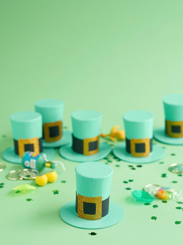 Leprechaun Hat Treats DIY | Oh Happy Day!