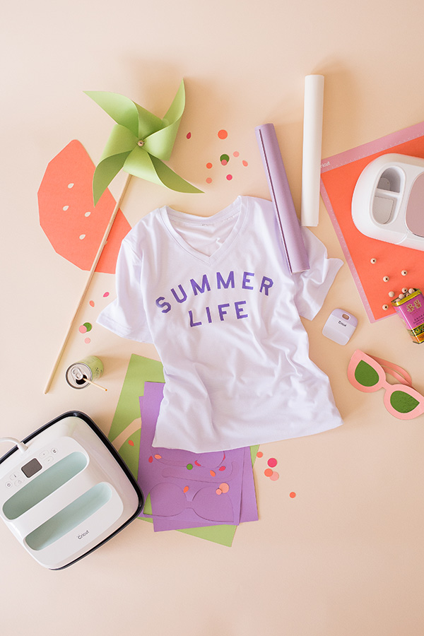 Summertime with Cricut's Infusible Ink | Oh Happy Day