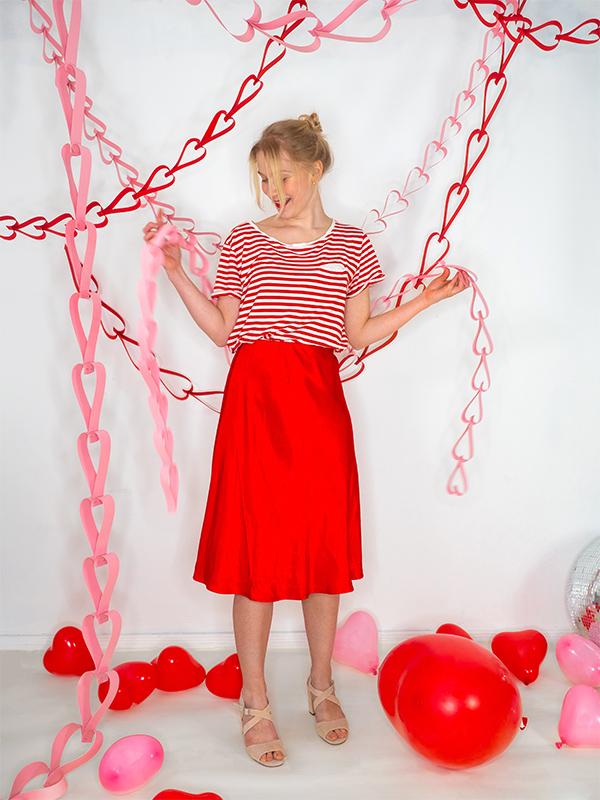 Valentine Heart Garland | Oh Happy Day