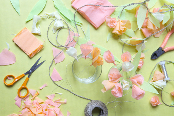 Diy Easy Crepe Paper Garland