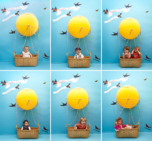 DIY Hot Air Balloon Kids Photo Booth | DIY Photo Booth Ideas For Your Next Shindig