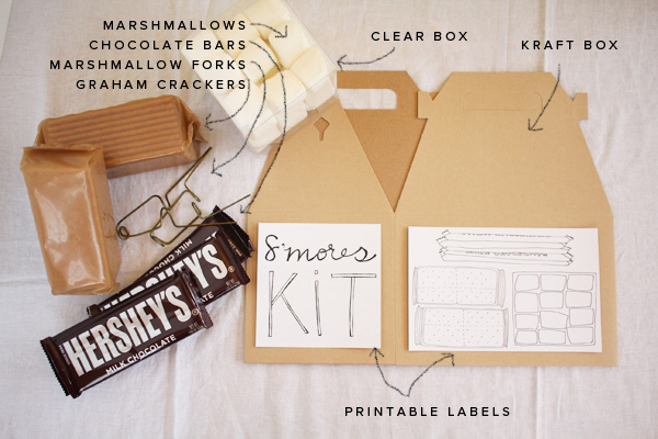 DIY S'Mores Kit | Oh Happy Day!