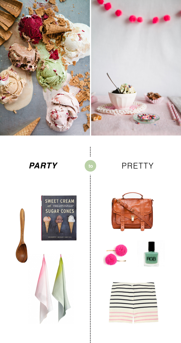Party to Pretty - Ice Cream Social | Oh Happy Day!