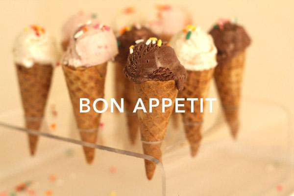 Mini Ice Cream Cones + Acrylic Stand DIY | Oh Happy Day!