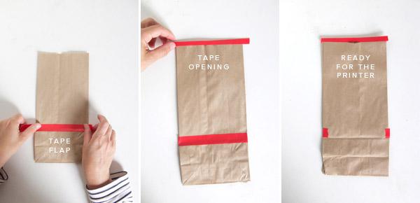 Print On Brown Paper Bags